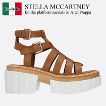 Stella Mccartney Emilie platform sandals in Alter Nappa