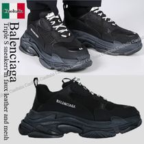 Balenciaga Triple S sneakers in faux leather and mesh
