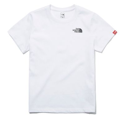 THE NORTH FACE キッズ用トップス ☆人気☆THE NORTH FACE☆K'S ESSENTIAL LOGO S/S R/TE.E☆(5)