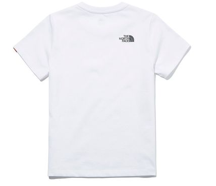 THE NORTH FACE キッズ用トップス ☆人気☆THE NORTH FACE☆K'S ESSENTIAL LOGO S/S R/TE.E☆(6)