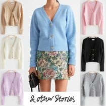【& Other Stories】Bee Button Alpaca Blend Cardigan 7色