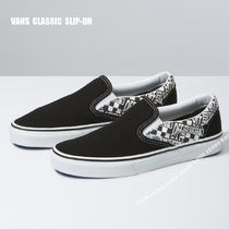 VANS★CLASSIC SLIP-ON OFF THE WALL★ロゴ★兼用