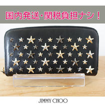 国内発送/即発【JIMMY CHOO】FILIPA LTR STAR 長財布
