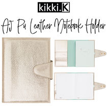 【kikki.K】A5 PU Leather Notebook Holder A5サイズ 手帳カバー