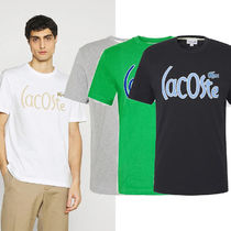 Lacoste ロゴ プリント Tシャツ