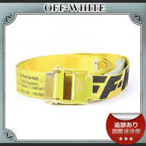 SALE!!送料込≪OFF-WHITE≫ Industrial2.0 ナイロン ベルト