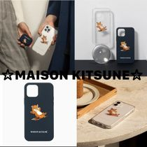 ☆MAISON KITSUNE☆CHILLAX FOX iPhone 12/12Pro/12Mini ケース