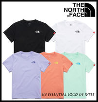 【THE NORTH FACE】K'S ESSENTIAL LOGO S/S R/TEE