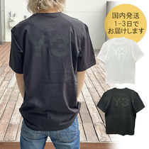 Y-3(ワイスリー) Tシャツ・カットソー 【国内即発】★Y-3★BACKロゴ Tシャツ 人気カラー♪