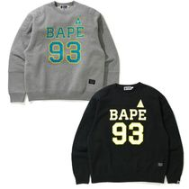 A BATHING APE★送料込み★MILITARY PADDED RELAXED スウェット
