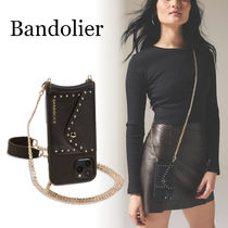 スタッズ付【Bandolier】Mona Side Slot Studded◆iPhoneケース