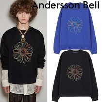 ★ANDERSSON BELL★UNISEX COSMOS EMBROIDERY SWEATSHIRT
