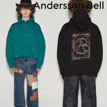 ANDERSSON BELL(アンダースンベル) スウェット・トレーナー 日本未入荷★ANDERSSON BELL★UNISEX RAINBOW EMBROIDERY HOODIE