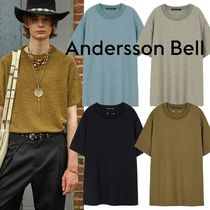 ★ANDERSSON BELL★POODLE SHORT SLEEVE KNIT