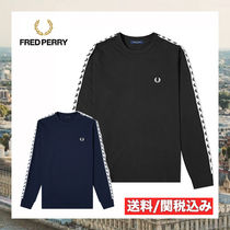 FRED PERRY(フレッドペリー) Tシャツ・カットソー 【大人気!】Fred Perry AUTHENTIC TAPED ロングスリーブTシャツ