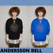 ★ANDERSSON BELL★限定UNISEX COSMOS EMBROIDERY SWEATSHIRT