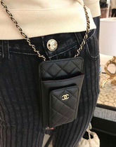2021CHANEL ★ALL-IN-ONEが嬉しい★PHONE/CARD CASE