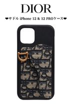 【DIOR】SADDLE COVER FOR IPHONE 12 & 12 PRO iphoneケース