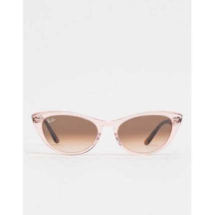 Rayban cat eye sunglasses in pink