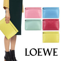 LOEWE ロエベ T POUCH REPEAT クラッチ バッグ【送料0/関税込】
