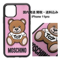 MOSCHINO TEDDY BEAR iPhone11Pro ケース ピンク