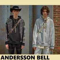 ★ANDERSSON BELL★限定UNISEX FABRIC CONTRAST SEOUL21 HOODIE