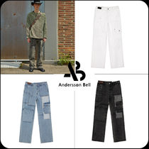 [ANDERSSON BELL]★限定販売★PATCHWORK DENIM WIDE-LEG JEANS
