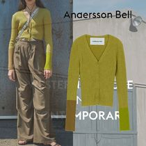 ANDERSSON BELL(アンダースンベル) ニット・セーター ANDERSSON BELL - (WOMEN) RIONA POINT SLEEVE KNIT CARDIGAN
