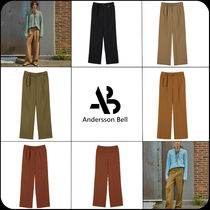 [ANDERSSON BELL]★MATTHEW BELTED WIDE LEGGED TROUSERS