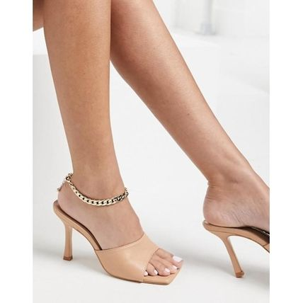 DesignB London chain anklet in gold