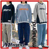 ★人気★【mahagrid】★ SPORTS TEAM SWEATSHIR.T★スウェット
