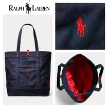 【Ralph Lauren】日本未入荷●Polo CLOT Canvas Tote