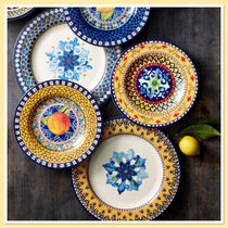 Williams Sonoma Sicily Outdoor Melamine 4X ディナープレート