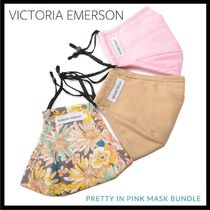 Victoria Emerson★花柄&無地のフェイスマスク3枚セット