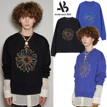 ANDERSSON BELL(アンダースンベル) スウェット・トレーナー ★ANDERSSON BELL★送料込 UNISEX COSMOS EMBROIDERY SWEATSHIRT