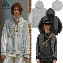 ★ANDERSSON BELL★UNISEX FABRIC CONTRAST SEOUL 21 HOODIE