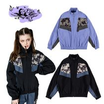 【runningHIGH】FLOWER POINT RETRO TRACK JACKET 追加送料なし