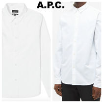 A.P.C. アーペーセー 白シャツ 長袖 大人気アイテム! 送料0