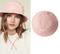 Acne Face-motif bucket pink フェイス付バケットハット ピンク