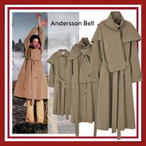 ANDERSSON BELL(アンダースンベル) トレンチコート 【ANDERSSON BELL】NORA LAYERED SCARF TRENCH COAT