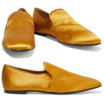 【The Row】☆Alys satin loafers☆サテン ローファー☆