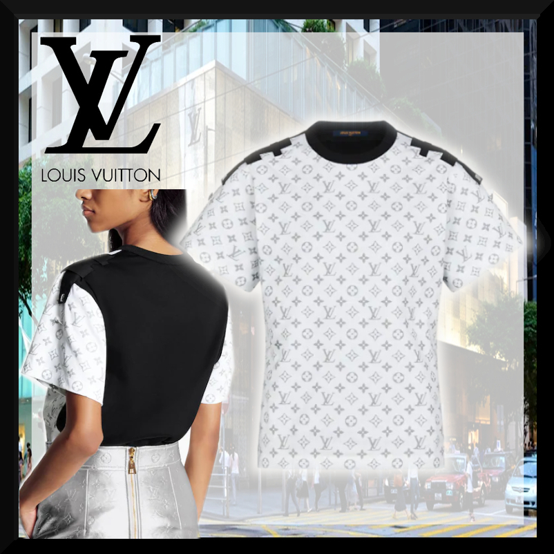 【21SS★クールなデザイン】Louis Vuitton Tシャツ レディース (Louis Vuitton/Tシャツ・カットソー) 1A8TLJ  1A8TLI  1A8TLK