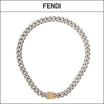 【FENDI】FFクラスプ カーブチェーンネックレス '関税込み'