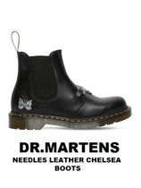 [DR.MARTENS] NEEDLES LEATHER CHELSEA BOOTS (送料関税込み)