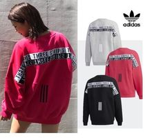 国内発・すぐ届く adidas★Must Haves Wording Crew Sweatshirt