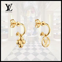 Louis Vuitton(ルイヴィトン)BLOOMING EARRINGS LV Gold