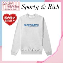 関税送料込★Sporty & Rich★SCIENCE OF GOOD HEALTH スウェット