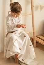 [DECO VIEW] 韓国☆Bear Embroidery Double Gauze Blanket