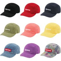 [Supreme] Washed Chino Twill Camp Cap SS21 (送料関税込み)
