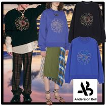 ANDERSSON BELL(アンダースンベル) スウェット・トレーナー ☆ANDERSSON BELL☆UNISEX COSMOS EMBROIDERY SWEATSHIR.T 人気
